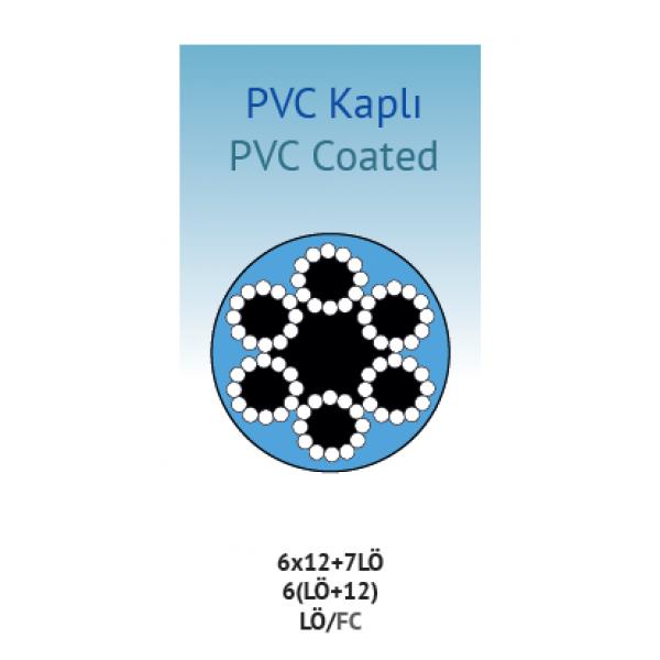 PVC KAPLI 6x12+7LÖ LİF ÖZLÜ / FC
