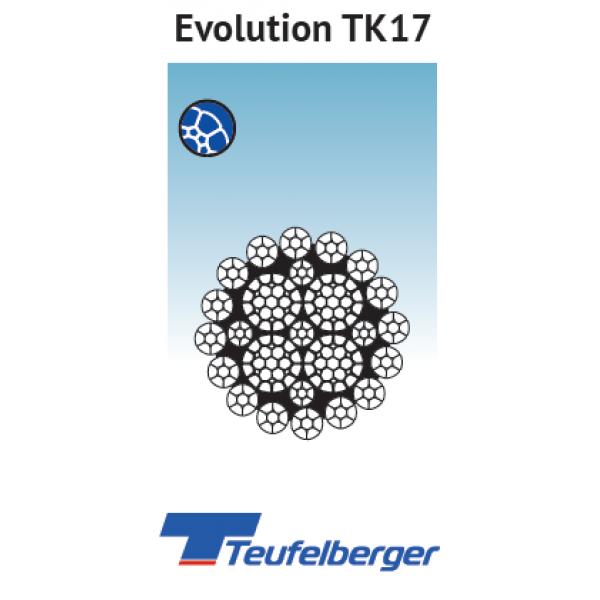 EVOLUTION TK17 KOMPAKT TORON / DÖNMEYE KARŞI DAYANIKLI